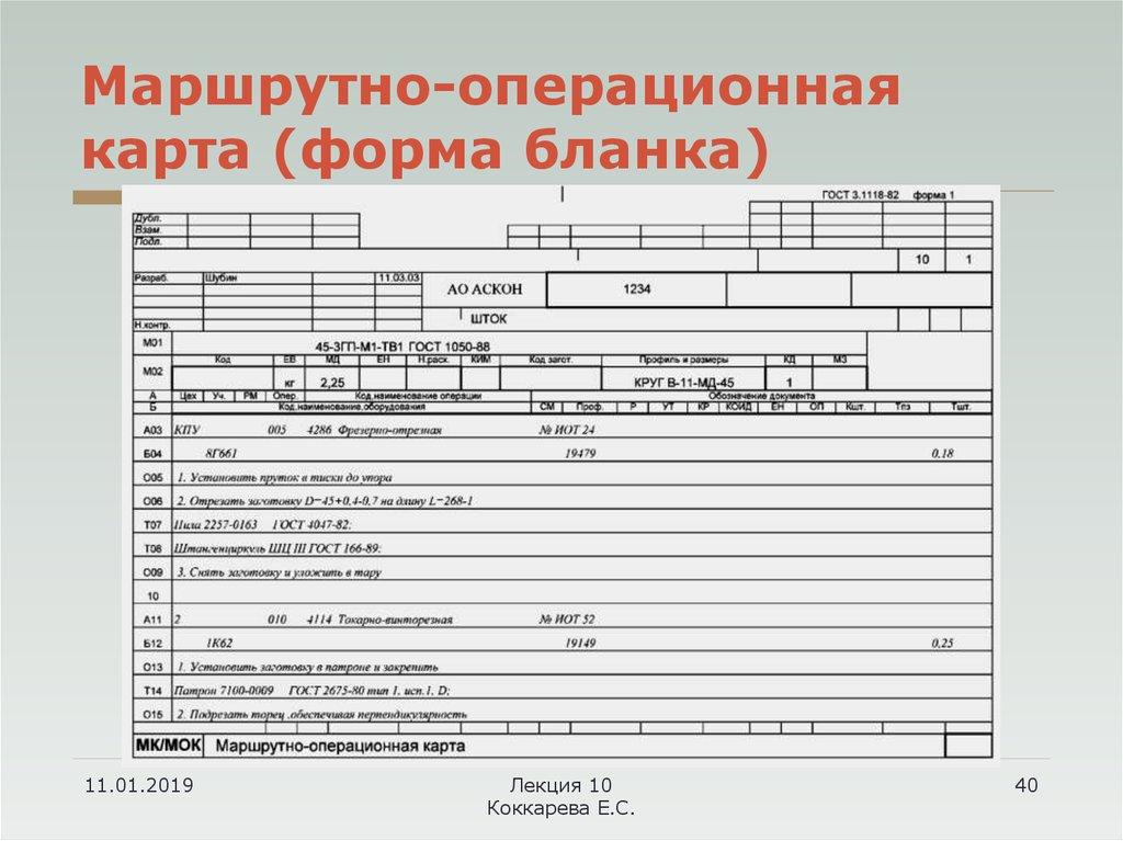 Скачать гост 3.1118-82 единая система технологической документации. формы и правила оформления маршрутных карт