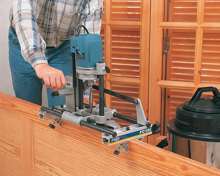 Врезка петель фрезером: правила подбора и применения оборудования