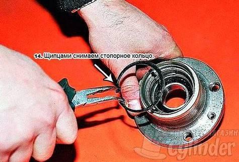 Как снять стопорное кольцо: виды и изготовление инструмента своими руками