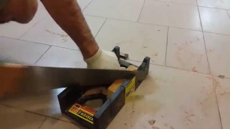 Как пользоваться стуслом? как правильно им работать? как стусло помогает распилить несколько заготовок? как резать багет с его помощью?