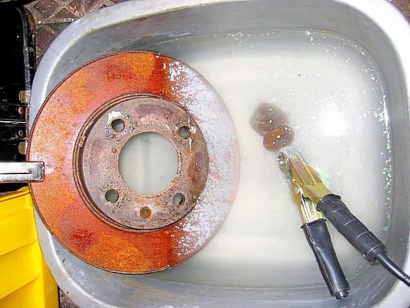 25 лучших способов и средств удаления ржавчины с металла в домашних условиях