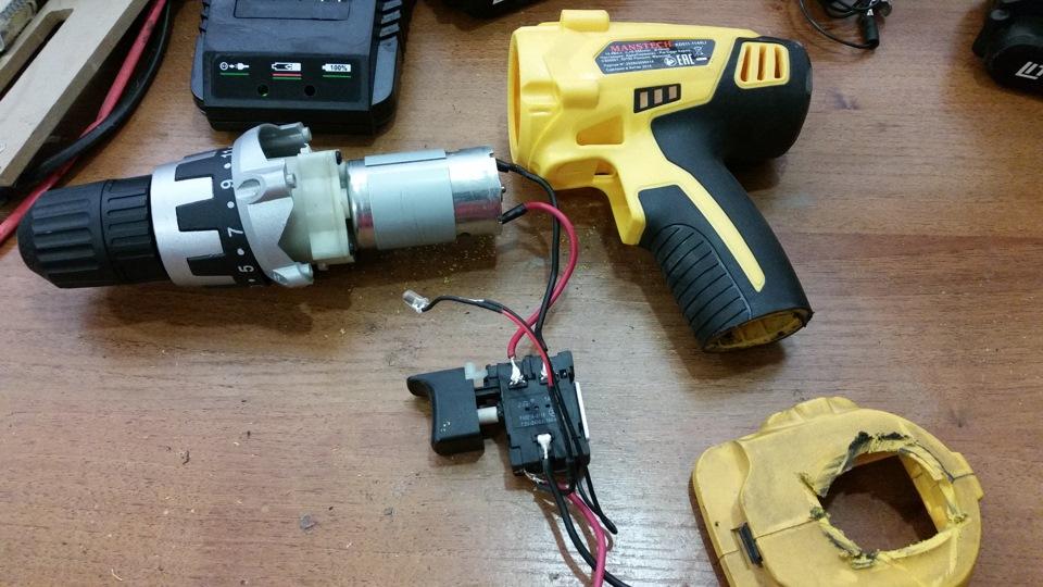 Переделка аккумуляторного шуруповерта на питание от сети 220в: из чего сделать блок питания