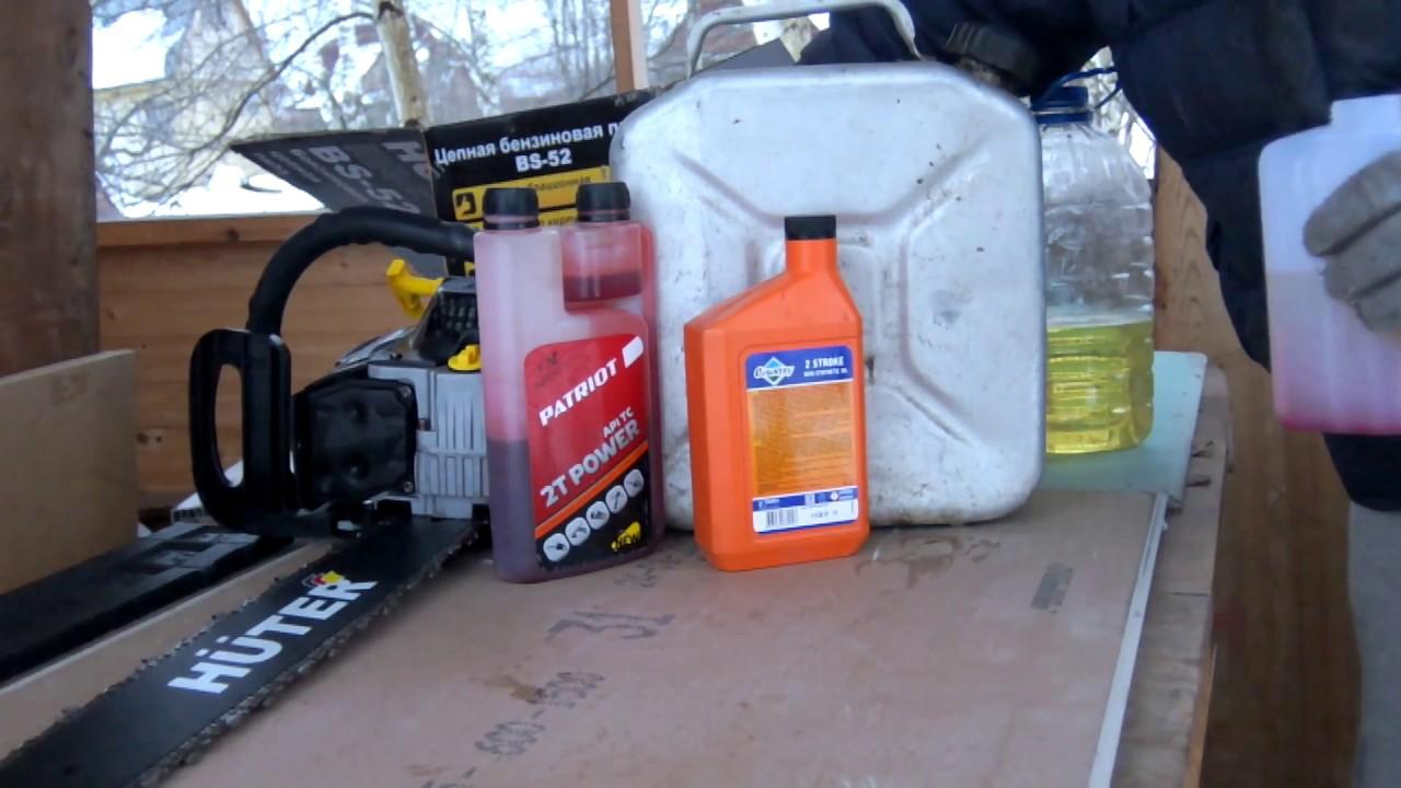 Масло для цепи бензопилы: когда заливать и как выбрать правильную марку смазочного материала