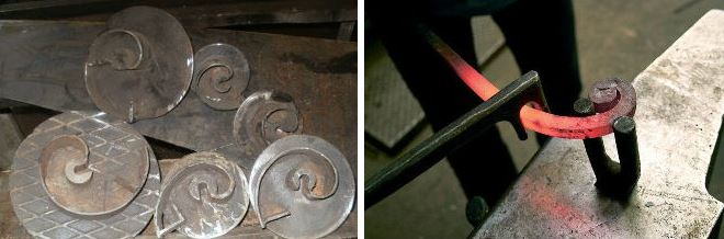 Станок для завитков своими руками: самодельные кондукторы, матрицы и другие инструменты, изготовление из профтруб и не только; гибка, сварка, сборка; видео