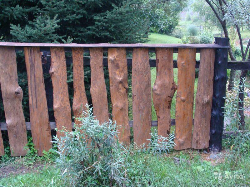 Забор из горбыля своими руками (+фото) | стройсоветы