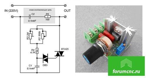 Производство своими руками плавного пуска для электродвигателя