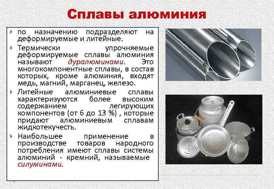 Что такое алюминиевая продукция – aluminium-guide.com