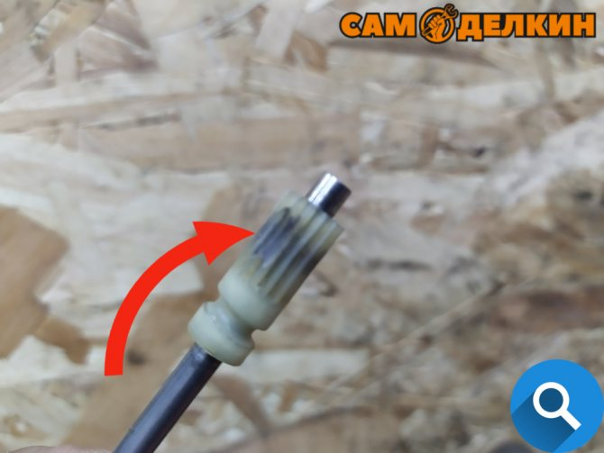 Ремонт Хускварна 137: Не подается масло на цепь Фотоотчет