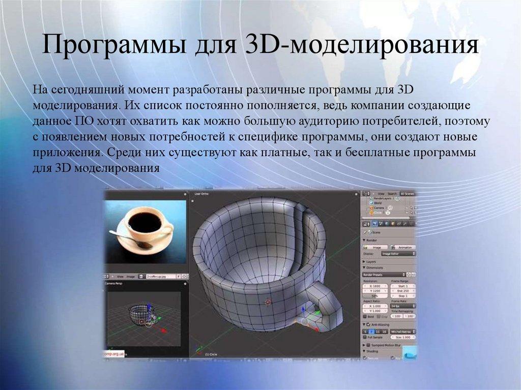 3d-моделирование — что это и для кого? ‹ виртуальная школа графического дизайна