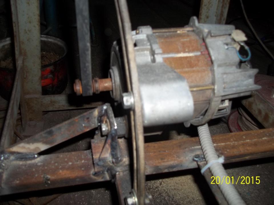 Циркулярка своими руками из двигателя стиральной машины: как собрать циркулярную пилу