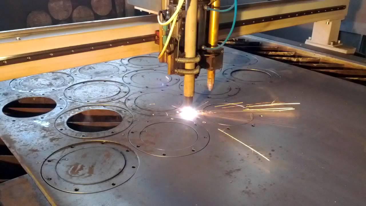 Раскрой листового металла лазером и плазмой