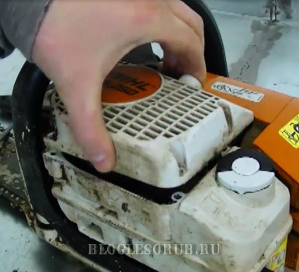 Как отремонтировать стартер на бензопиле