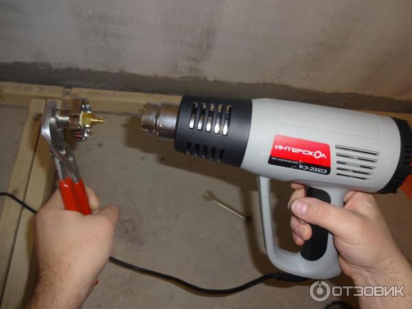 Зачем нужен и где применяется строительный фен. что можно делать строительным феном как можно использовать строительный фен