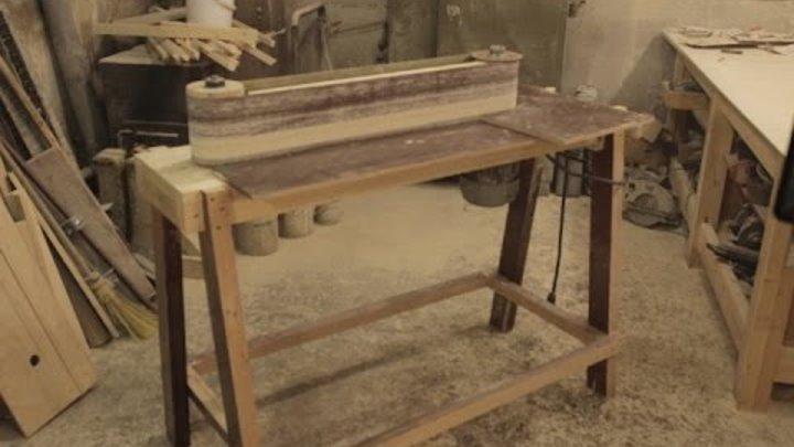Как сделать шлифовальный станок своими руками: самодельный ленточный станок по дереву или металлу