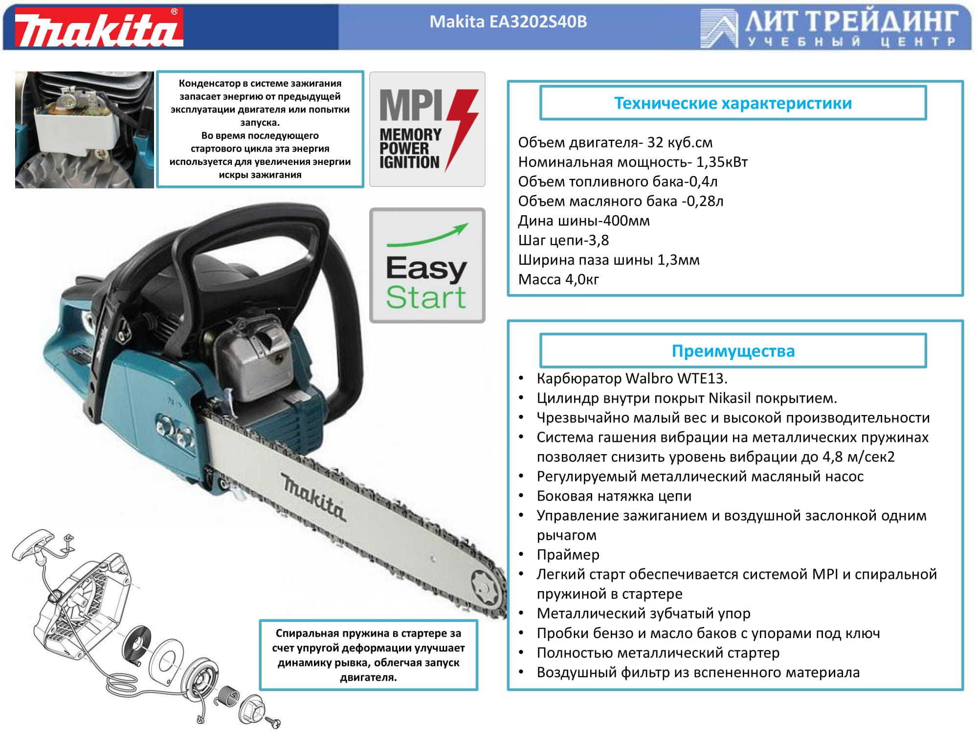 Makita ea3202s-40 — аккуратная пила по приемлемой цене
