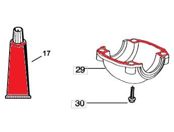 Замена поршневой на хускварна 235/240 - инструкция и подбор з/ч