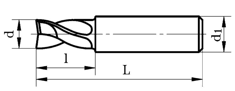 Типы, конструкция и особенности фрез по металлу