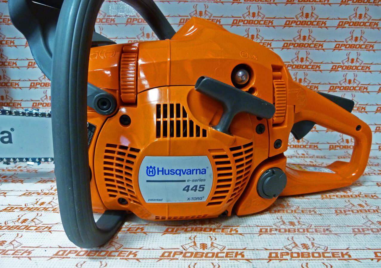 Хускварна 445: технические характеристики бензопилы, отзыв