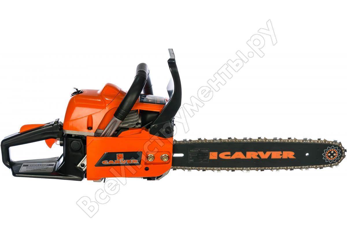 Бензопила carver rsg-52-20k (01.004.00009) купить от 5590 руб в воронеже, сравнить цены, отзывы, видео обзоры и характеристики