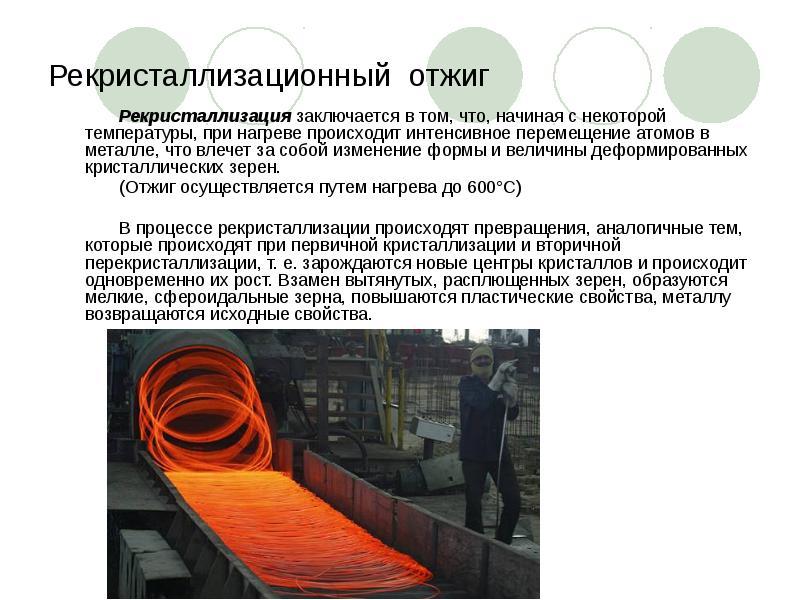 Контрольная работа: пластическая деформация и рекристаллизация металлов и сплавов