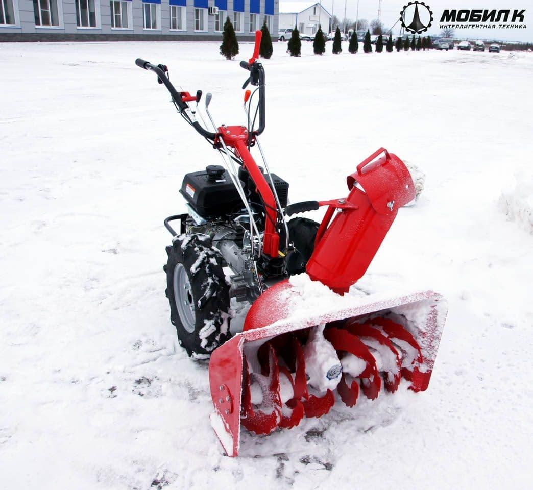 Навесной снегоуборщик для мотоблока — виды, советы по монтажу и использованию