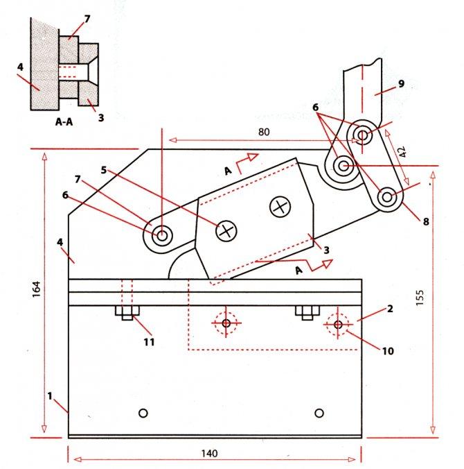 Гильотинные ножницы – точный и эффективный рез любого металла + видео