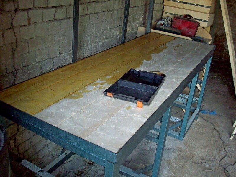 Деревянный верстак в гараж своими руками — просто и доступно