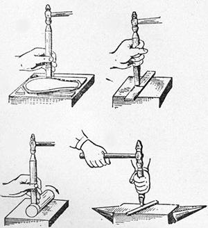 Слесарная рубка металла — инструменты, приемы, правила