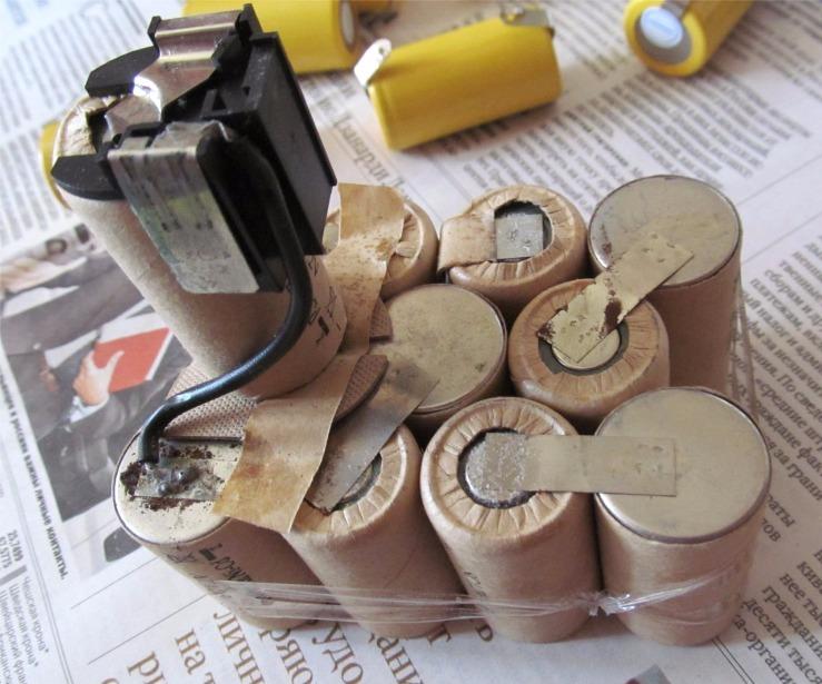 4 способа восстановить ni-cd, ni-mh, li-ion аккумуляторы шуруповерта