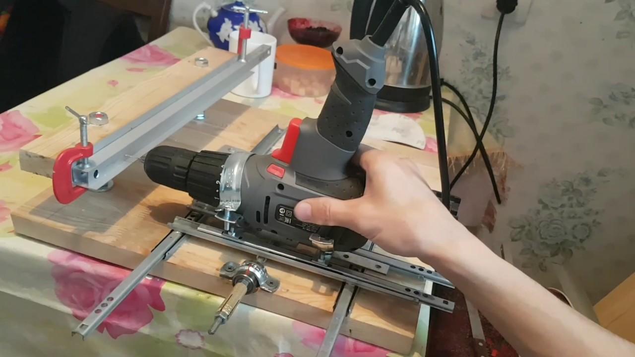 Изготавливаем сверлильный станок из дрели своими руками | главный механик