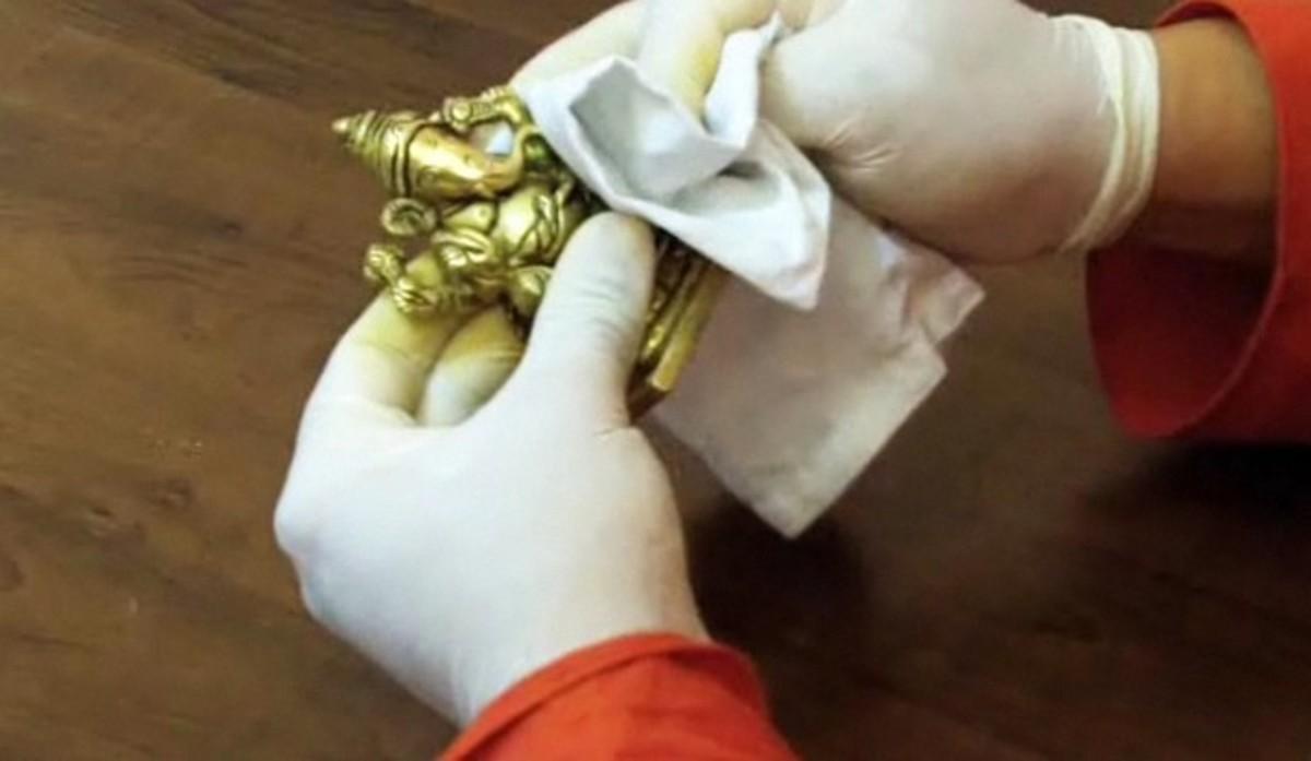 Чистка латуни до блеска в домашних условиях