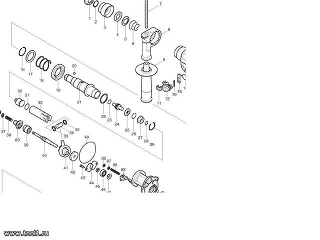 Ремонт перфоратора своими руками — схема, инструкция