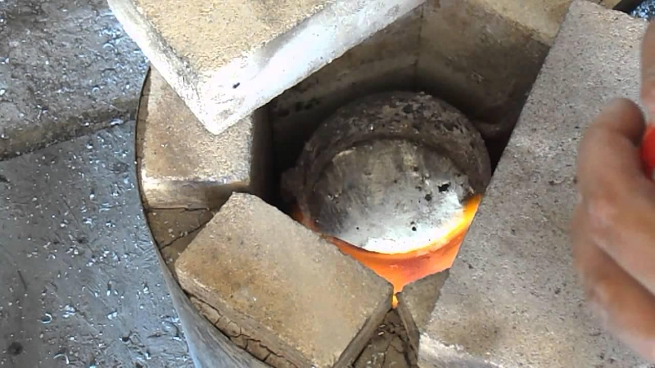 Как плавить алюминий в домашних условиях в разные формы