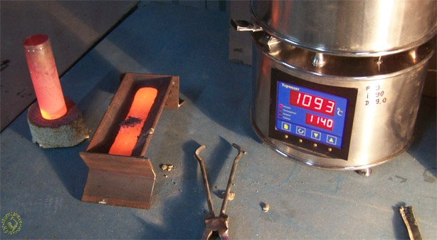 Индукционный тигель с холодными стенками — технология плавки металлов