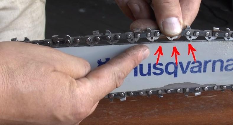 Как правильно натянуть цепь на бензопилу echo. как правильно натянуть цепь на бензопиле? | дачная жизнь