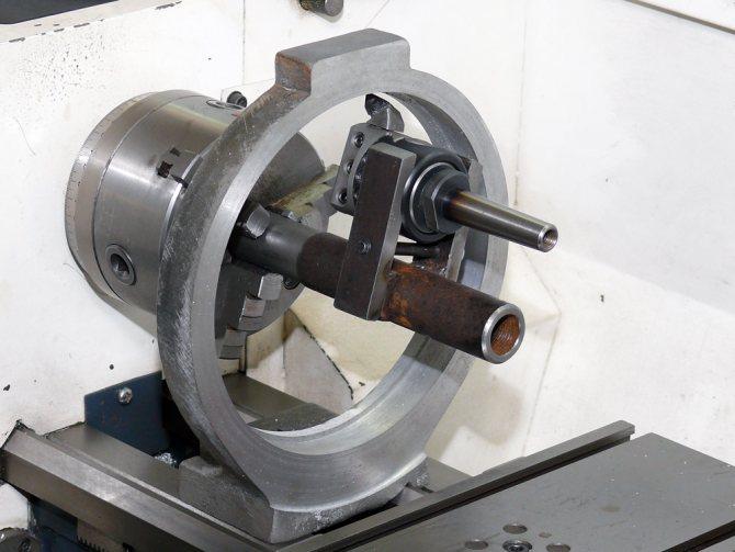 Люнет: для дерево- и металлообрабатывающих токарных станков, подвижный и неподвижный, самодельный роликовый