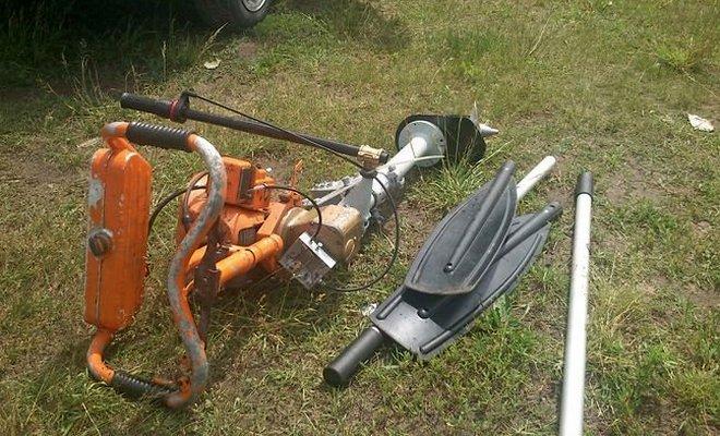 Лодочный мотор из бензопилы: как сделать своими руками