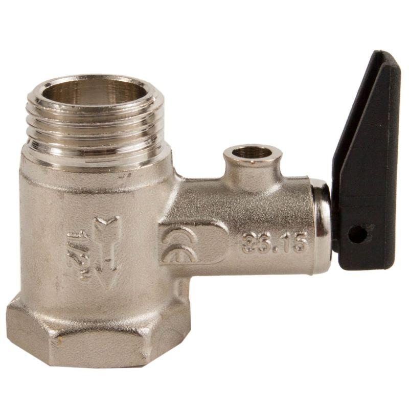 Предохранительный клапан в отоплении, установка, работа, конструкции