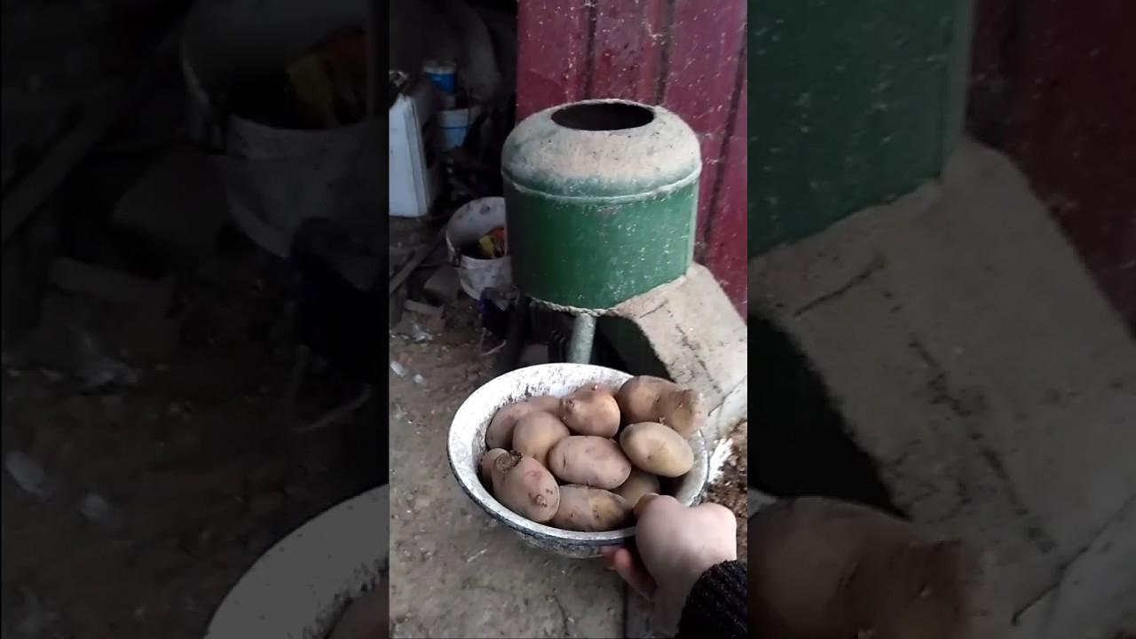 Корморезка своими руками из стиральной машины видео