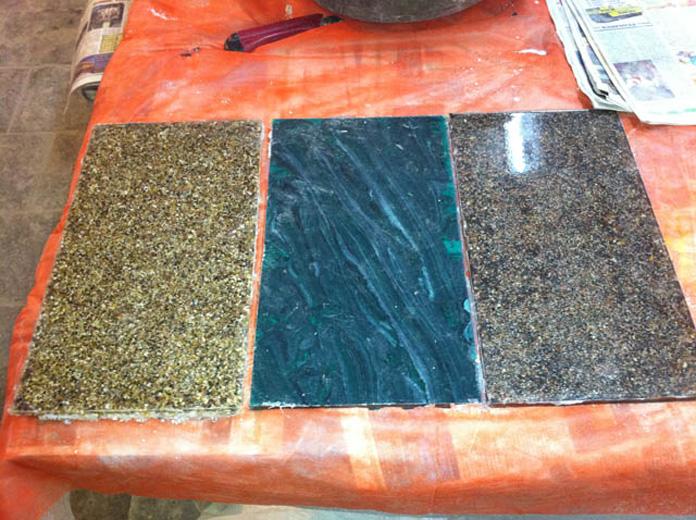Мрамор из бетона: материалы и технология производства искусственного камня