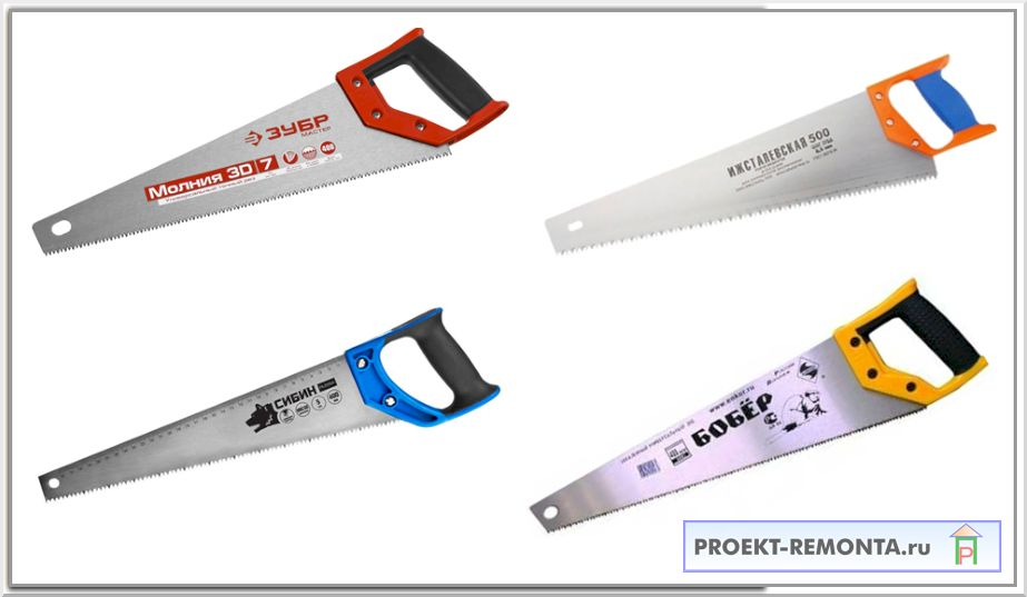 Ножовка по дереву: типы, назначение, выбор