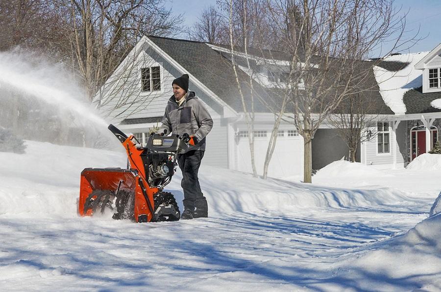 Подготовка снегоуборщика к зиме