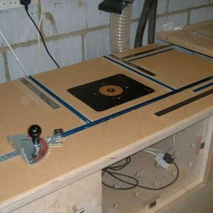 Пластина для фрезера с установкой в стол: изготовление своими руками