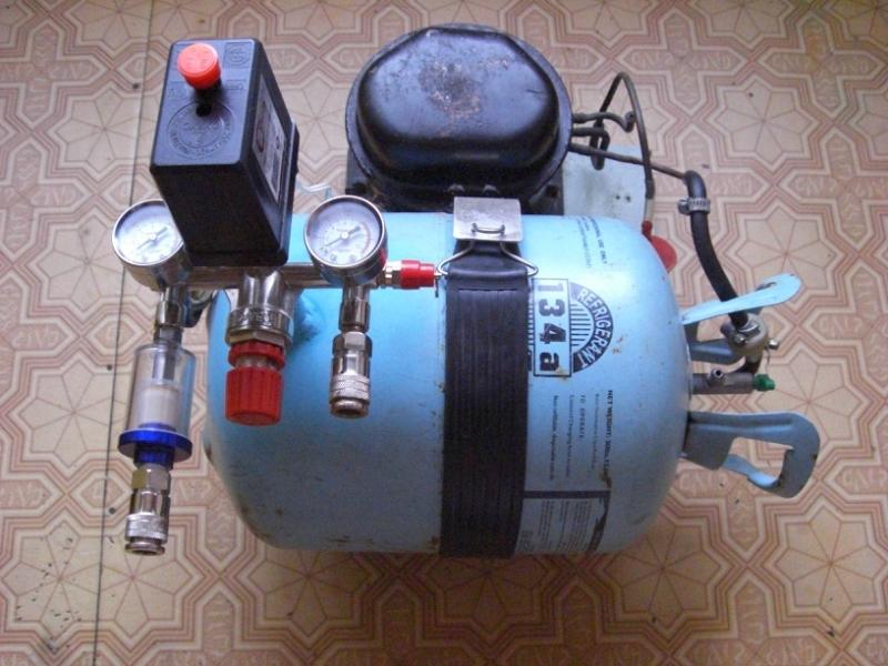 Самоделки из компрессора от холодильника - лобзик и подкачка шин