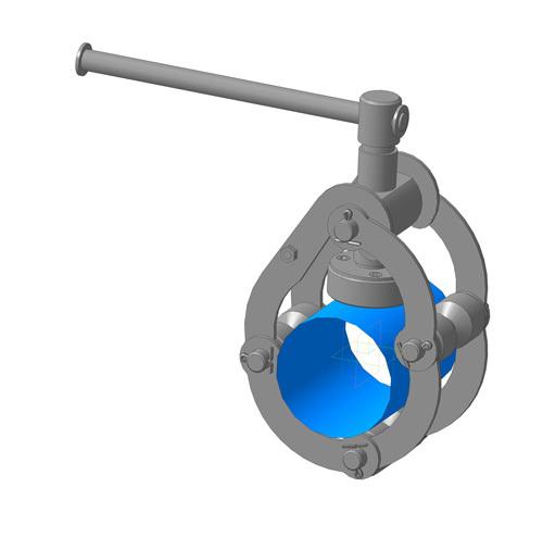 Центраторы для сварки труб