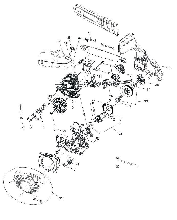 Бензопила «partner» p340s — плюсы, минусы и технические характеристики