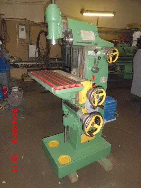 Фрезерный деревообрабатывающий станок фсш-1а с шипорезной кареткой