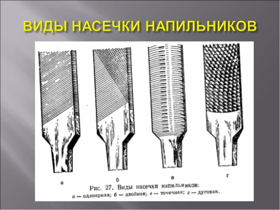 Виды напильников по металлу: особенности и предназначение