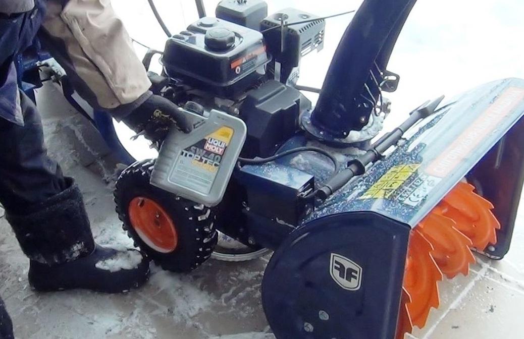 ✅ масло для снегоуборщика — замена, функции, типы, видео - спецтехника52.рф
