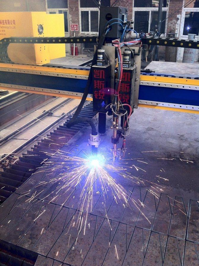 Станок плазменной резки металла с чпу: виды и технические характеристики